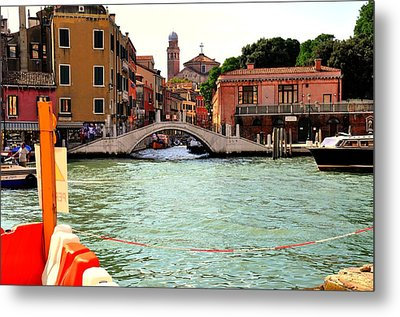 Living On The Water Metal Print