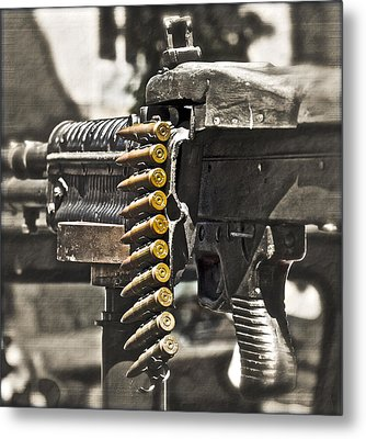 Load Of Ambition Metal Print by Gwyn Newcombe