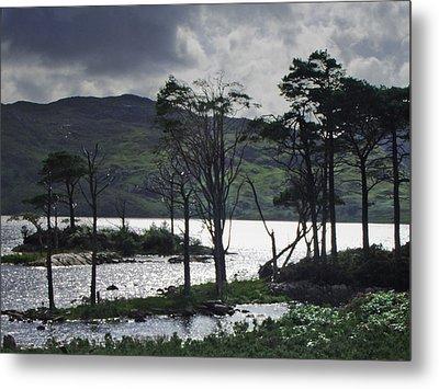 Loch Assynt Metal Print by Steve Watson