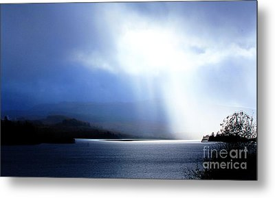 Loch Awe - Hdr Metal Print by David Grant