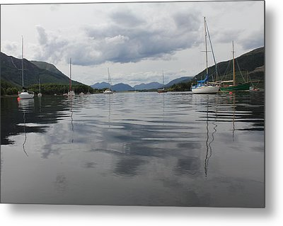 Loch Leven - Glencoe Metal Print by David Grant