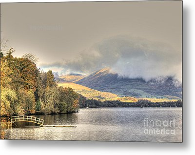 Loch Lomond Metal Print by David Grant