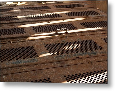 Metal Print featuring the photograph Lock Of Time by Fran Riley