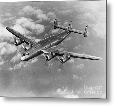 Lockheed Constellation Metal Print by Photo Researchers