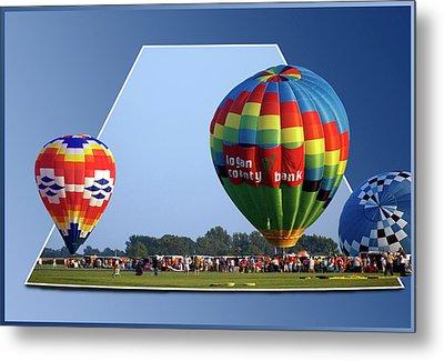 Logan County Bank Balloon 05 Metal Print by Thomas Woolworth