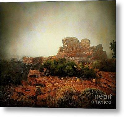 Lomaki Pueblo Metal Print