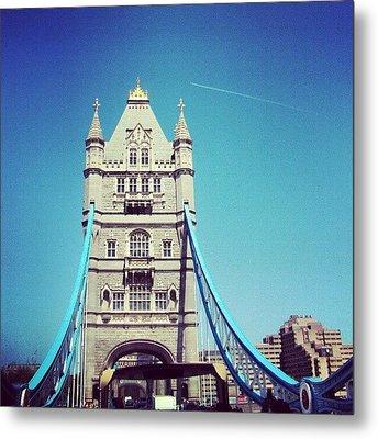 London Bridge, May - 2012 #london Metal Print by Abdelrahman Alawwad