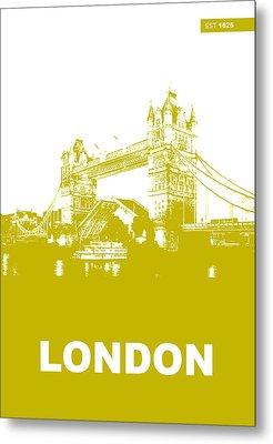 London Bridge Poster Metal Print by Naxart Studio