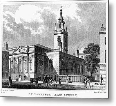 London: Church, C1830 Metal Print by Granger