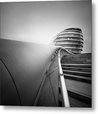 London City Hall Metal Print by Nina Papiorek