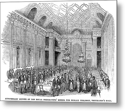 London: Freemasons Hall Metal Print by Granger