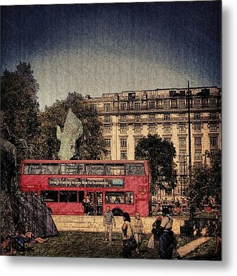 London Hydrpark | May 2012 , #london Metal Print by Abdelrahman Alawwad