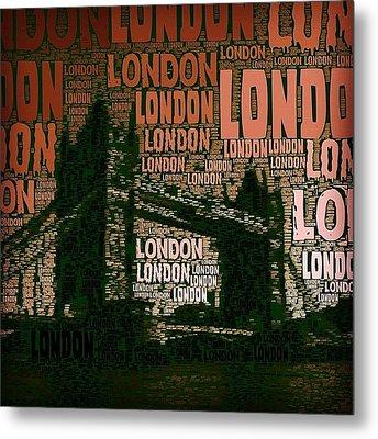 #london Just London Metal Print