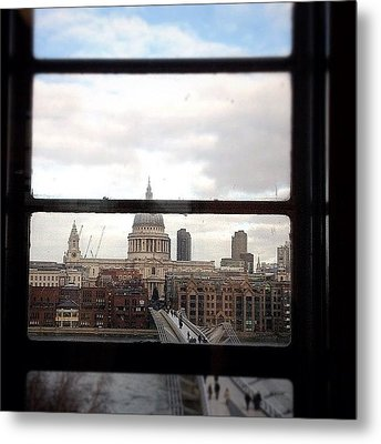 London Love Affair #photooftheday Metal Print by A Rey