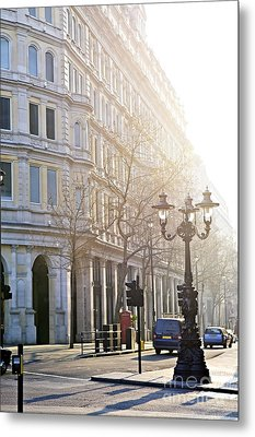 London Street Metal Print by Elena Elisseeva