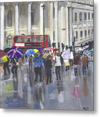 London - Summer 2012-1 Metal Print by Peter Edward Green