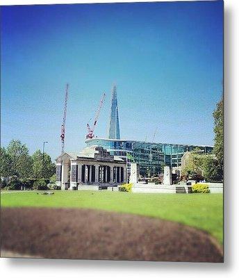 #london #uk #westminster #building Metal Print