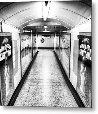 London Undergrounds! #london Metal Print