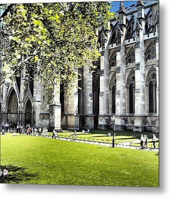 #london2012 #london #church #stone Metal Print