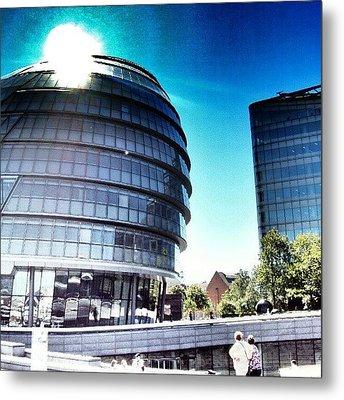 #london2012 #london #uk #england Metal Print by Abdelrahman Alawwad
