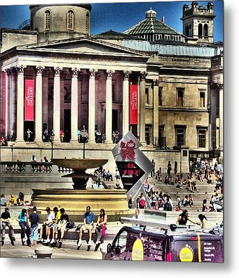 #london2012 #london #uk #summer2012 Metal Print by Abdelrahman Alawwad