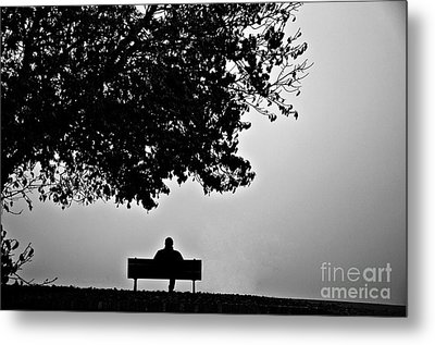 Lonely Days Metal Print by Uros Zunic