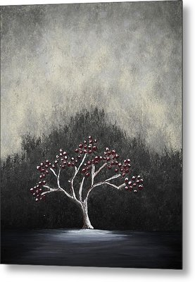 Metal Print featuring the painting Lonely by Edwin Alverio