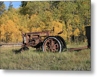Long Retired Metal Print by Mark Sacco