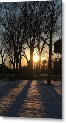Long Shadows Metal Print