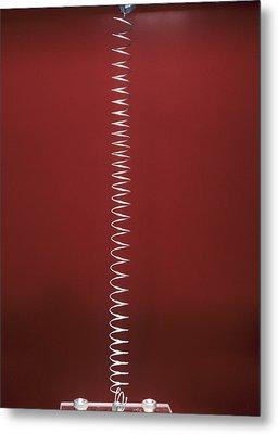 Longitudinal Wave Metal Print by Andrew Lambert Photography