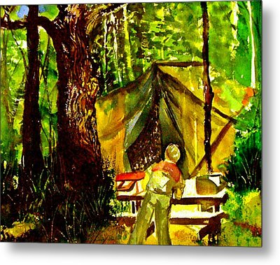 Look Out Rock Tennessee Metal Print by Mindy Newman