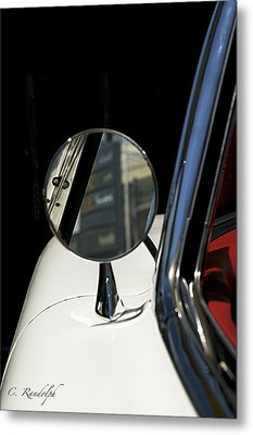 Metal Print featuring the photograph Looking Back by Cheri Randolph