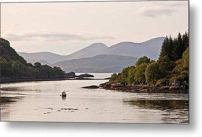 Looking To The Isle Of Mull Metal Print