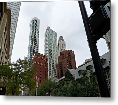 Looking Up Metal Print by Val Oconnor