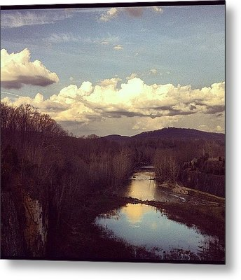 Looks Like A Painting But Is A Real Metal Print by  Abril Andrade Griffith