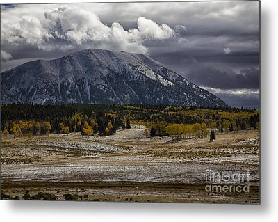 Looming Storm Metal Print by Timothy Johnson