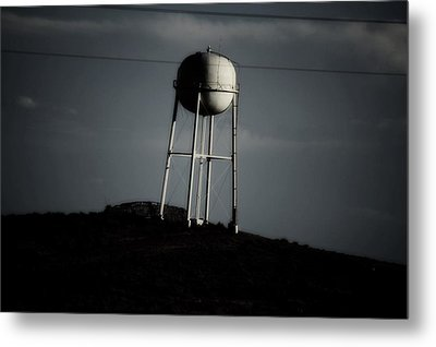 Metal Print featuring the photograph Lopsided Tower by Jessica Shelton
