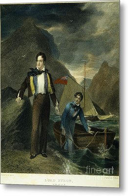 Lord Byron Metal Print by Granger