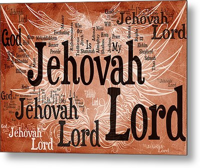 Lord Jehovah Metal Print by Angelina Vick