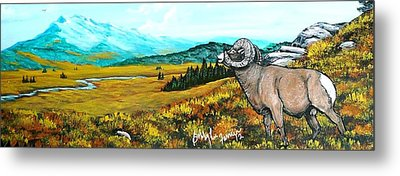 Lord Over The Mountains Metal Print by Bobbylee Farrier