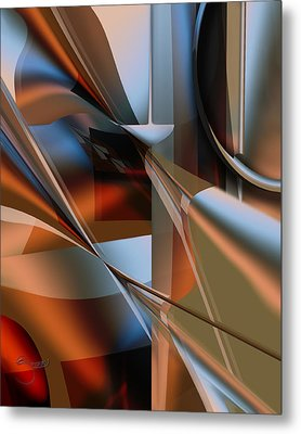Metal Print featuring the digital art Lordlike by Steve Sperry