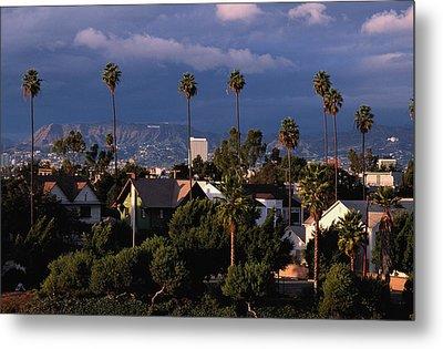 Los Angeles, California Metal Print by Larry Brownstein