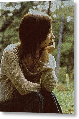 Lost In Thought Metal Print by Tim Ernst