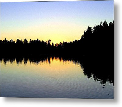 Lost Lagoon Sunset Metal Print by Will Borden