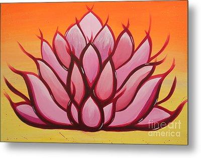 Lotus Metal Print by Silvie Kendall