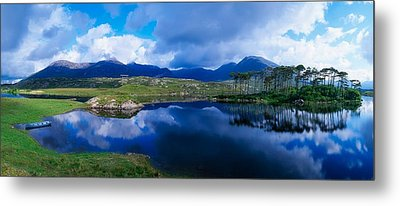 Lough Derryclare, Connemara, Co Galway Metal Print by The Irish Image Collection