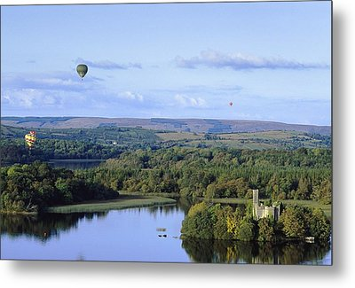 Lough Key Forest And Activity Park Metal Print by The Irish Image Collection