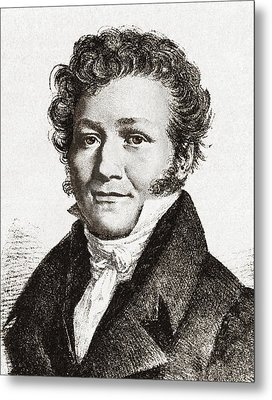 Louis-jacques Thenard, French Chemist Metal Print by Sheila Terry