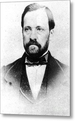 Louis Pasteur, French Chemist Metal Print by Science Source