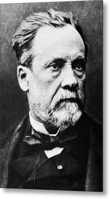 Louis Pasteur, French Microbiologist Metal Print